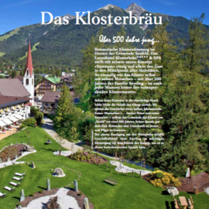 Lifetime Tirol – <br>das Klosterbräu in Seefeld