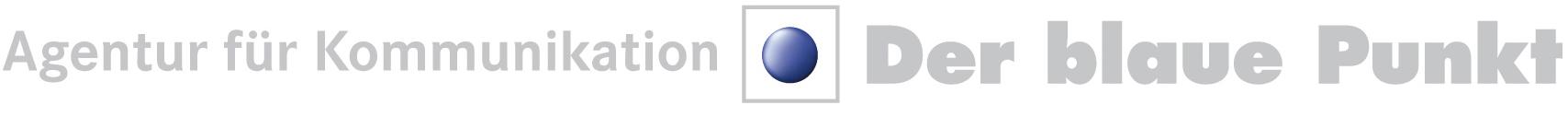 Logo Der blaue Punkt, Agentur für Kommunikation